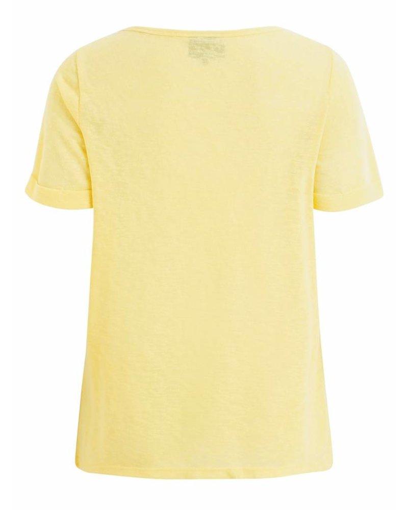 OBJECT TESSI TOP yellow