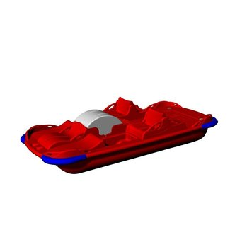 Rainbow Pedalo H20 395 Plus, 5+ persoons
