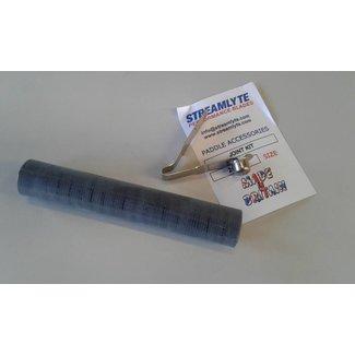 Streamlyte Deelbaarset, carbon met clip/veer