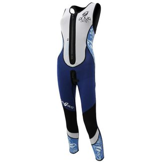 Aqua Design Long John, Dames, Lady Zip-Plus, met ritsje, 3 mm