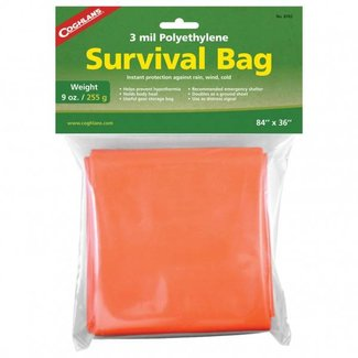 Coghlans Reddingszak, Survival bag, 210x90