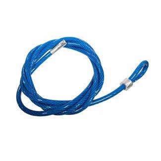 Eckla Anti Diefstal kabel, 4 mtr