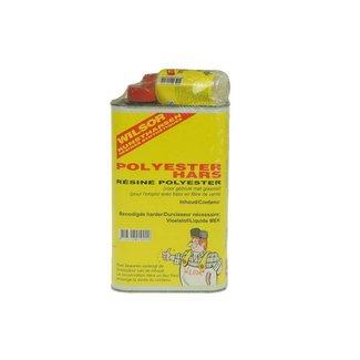 Wilsor Polyester Hars, 0.25 ltr. met harder 20 gram