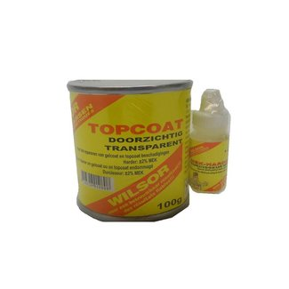 Wilsor Topcoat, transparant-set