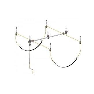 Eckla Plafond-Garage Lift, ophangsysteem