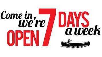 7 dagen per week GEOPEND !  Zondag = KOOPZONDAG !