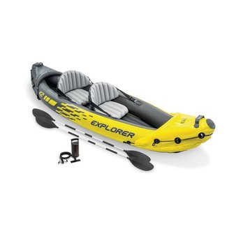Intex K2 Explorer 312, incl. peddels en pomp