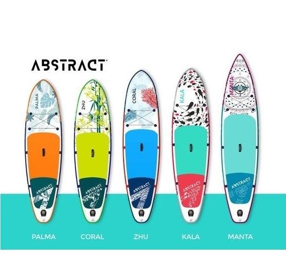 SUP-BOARDS !   Div. modellen van ABSTRACT vanaf 299 euro !!