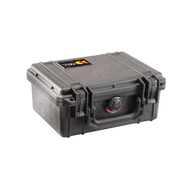 Peli Case 1200, Waterdichte Box + Foam