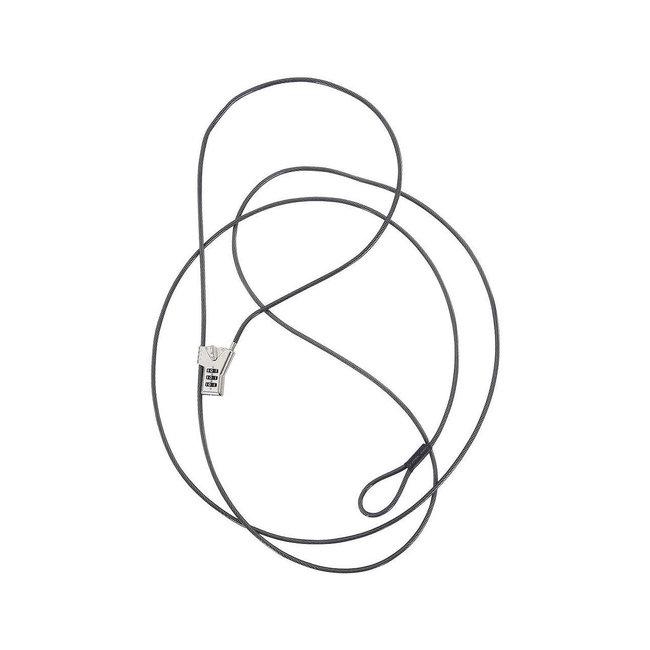 NRS Anti Diefstal kabel met slot, 3 mtr.