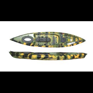 Delphin Angler 370, incl. roer en luxe zit/rugsteun