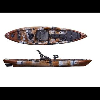 Delphin Angler 395, incl. roer en luxe zit/rugsteun