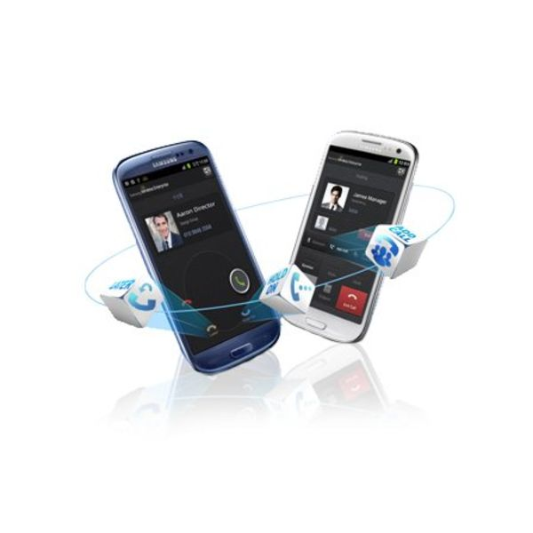 Samsung Hosted Voice vast- en mobiel integratie - per maand