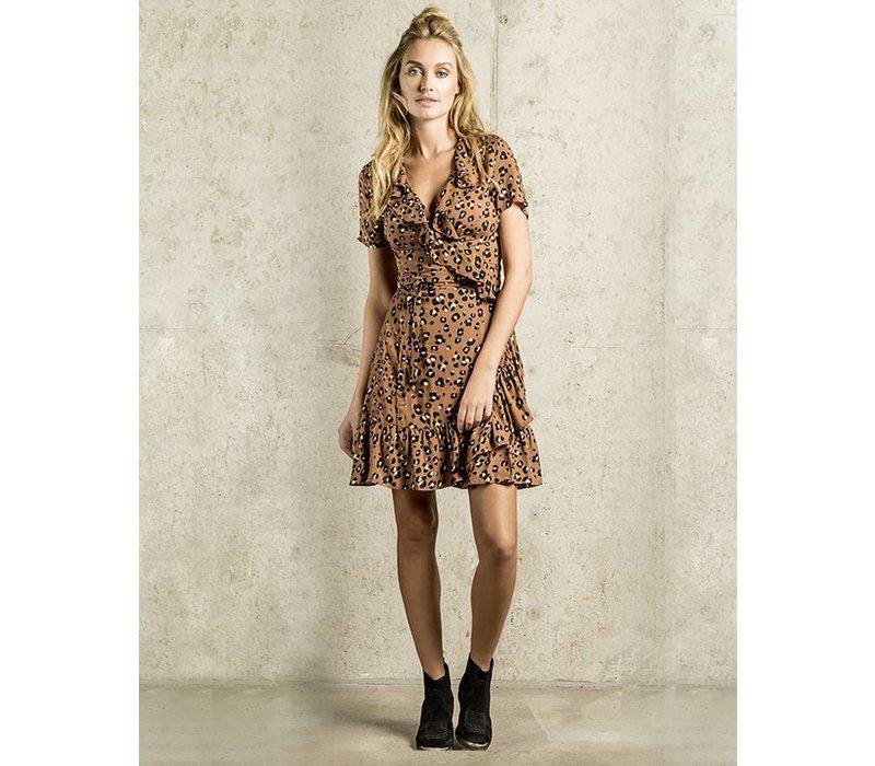 Dilara Dress - Leopard