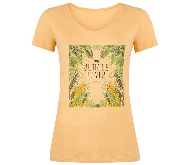 Tia 1 T-shirt - Ochre