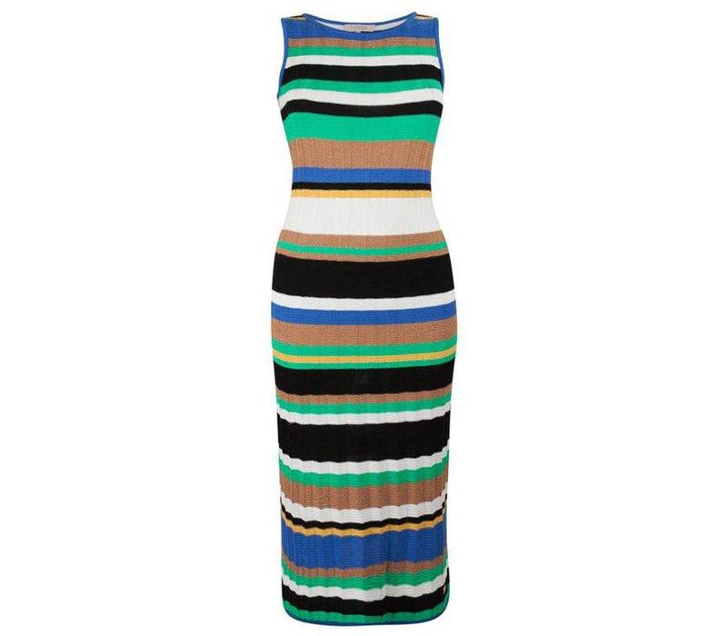 Dali Dress - Multistripe