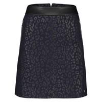 Romee Skirt - Midnight Blue Leopardprint