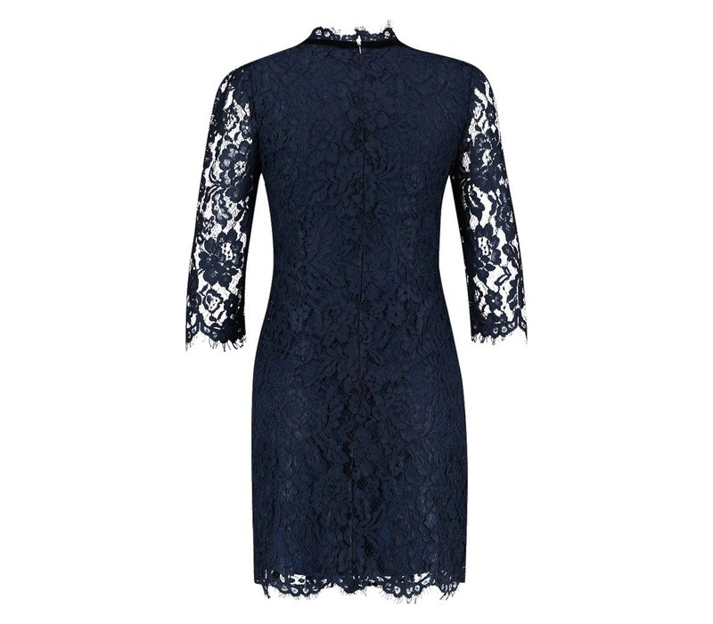 Dali Dress - Midnight Blue
