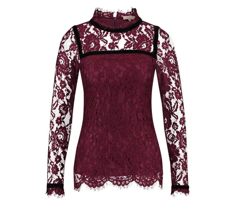 Troy Top - Wine Red
