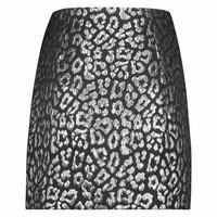 Rika Skirt - Silver Leopard