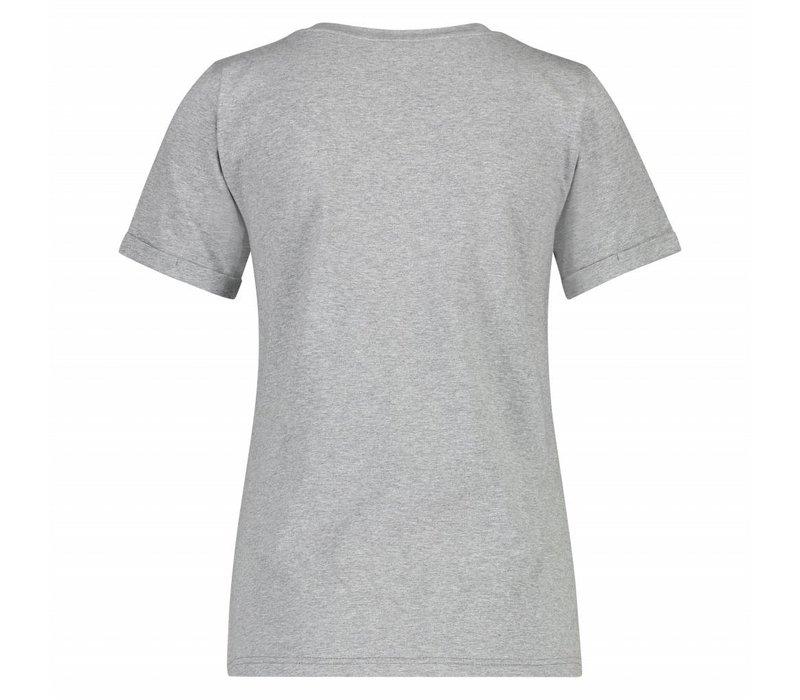 Trudy T-shirt - Grey Melange