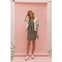 Tilda Dress - Grey Melange