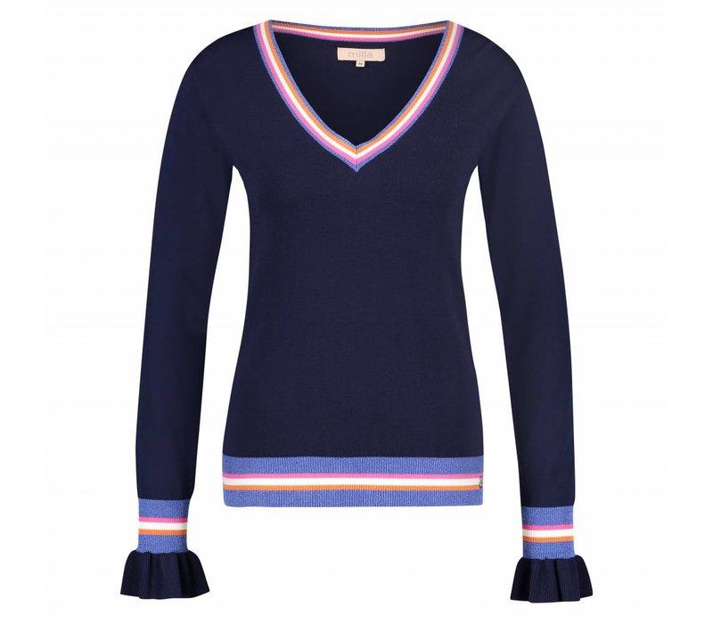 Sue Sweater - Navy