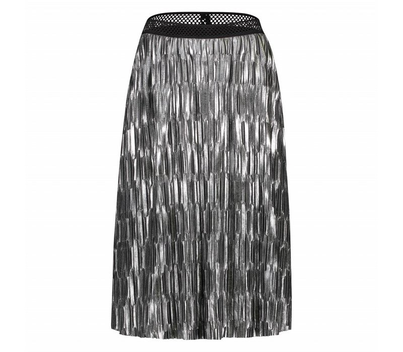 Roxanne Skirt - Silver