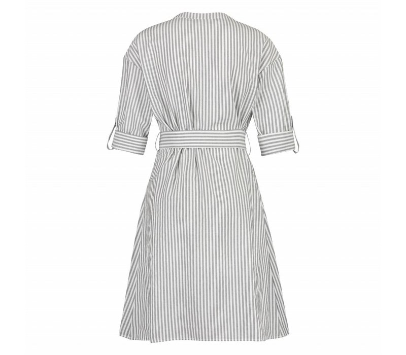 Dawn Dress - Black White