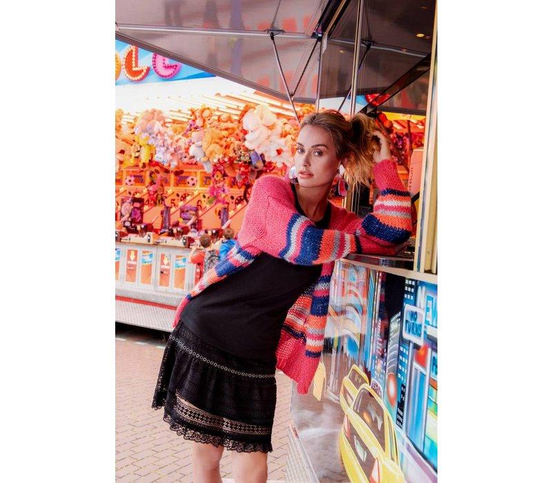 Candice Cardigan - Pink Multi