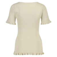 Trudie Top - Offwhite