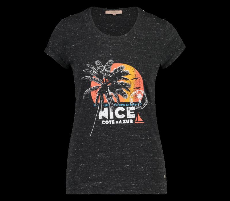 Tasha T Shirt - Antracite