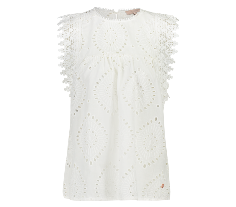 Tarcy Top - Offwhite