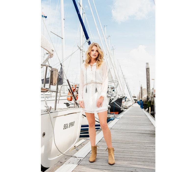 Doreen Dress - White