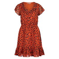 Dolly Dress - Tangerine Leo