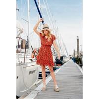 Dolly Dress - Tangerine Leo