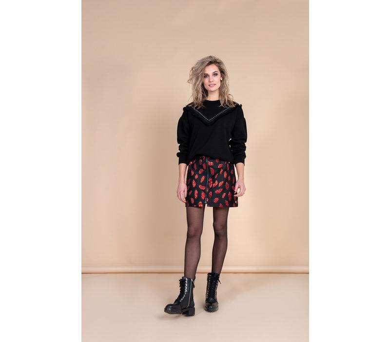 Scarlet Sweater - Black