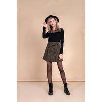 Rose Skirt - Army