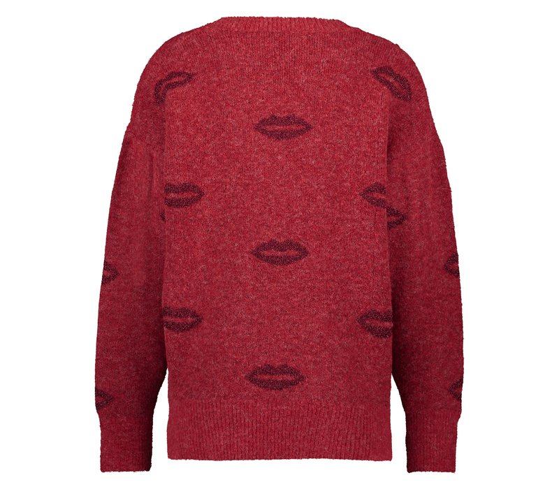 Sally Sweater - Red