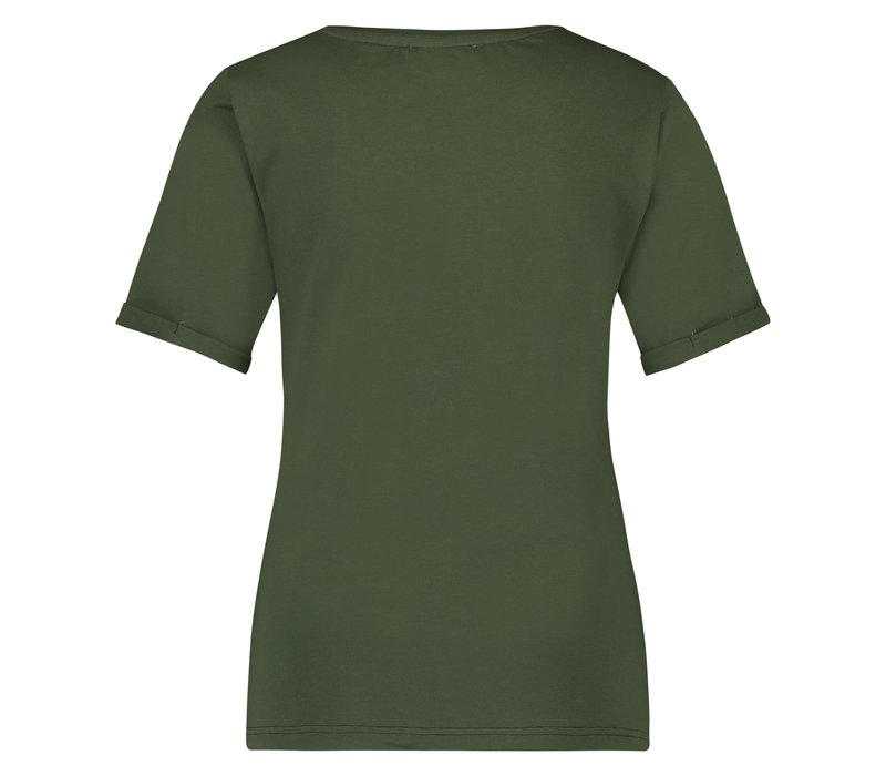 Tammie T-Shirt - Army