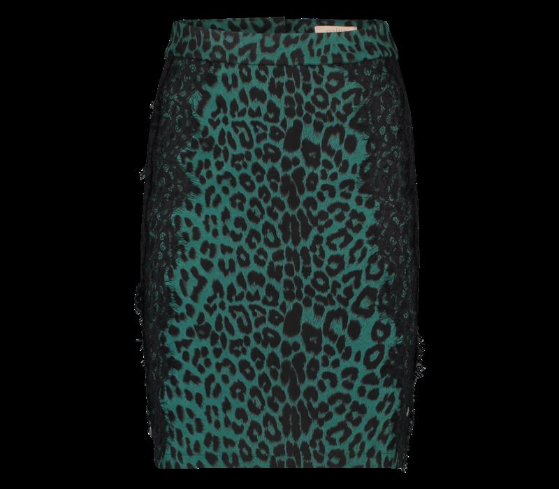 Robin  Skirt- Leopard Print