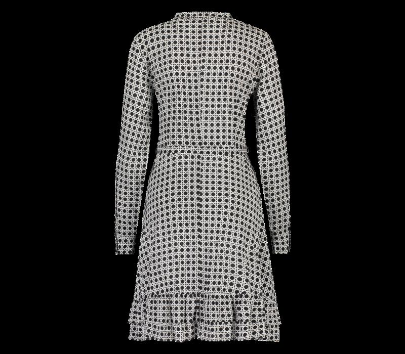 Deirdre Dress - Aop Geo Print
