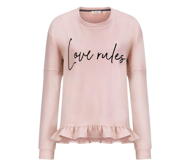 Steffie Sweater - Misty Pink
