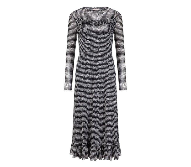 Daya Dress -  Black White Print