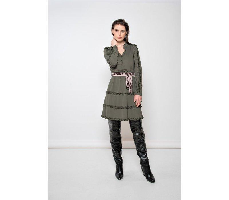 Dane Dress - Army Green