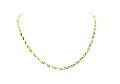 Gouden collier valkenoog 14 krt
