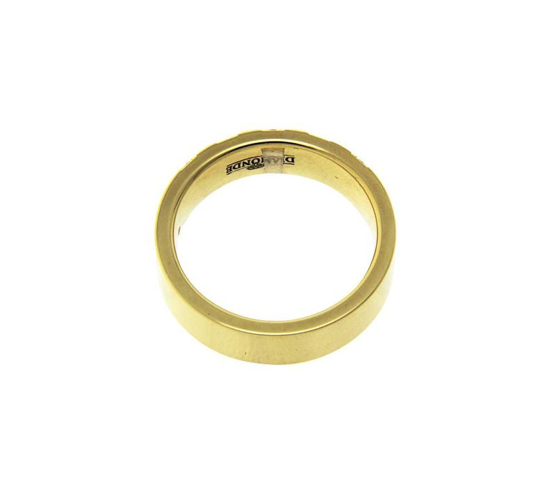 Gold ring with diamond of Diamond 14 krt * new