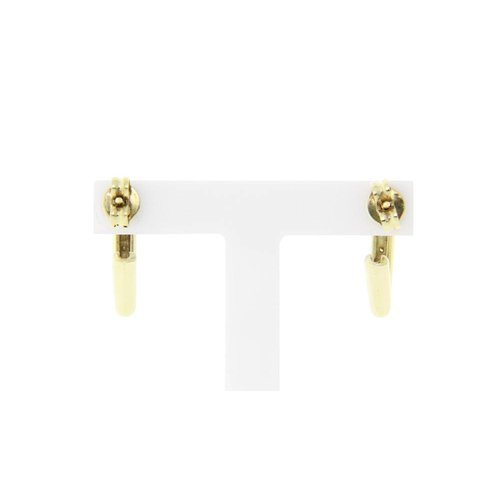 Golden fantasy earrings with diamond 14 crt * New