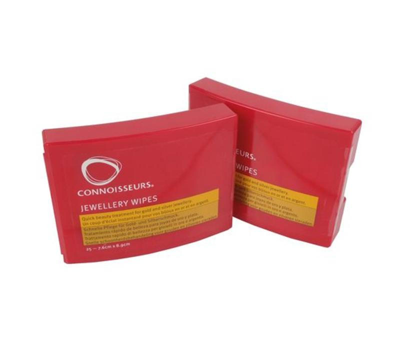 Connoisseurs Jewelery Wipes