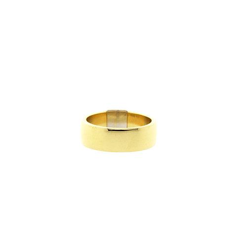 Golddiamantring 18